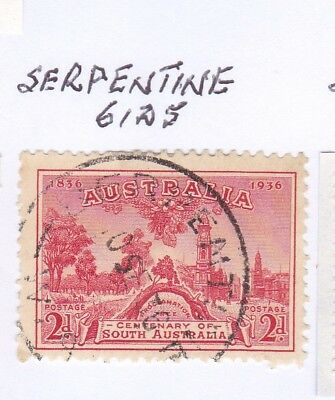 *WA POSTMARKS.SERPENTINE.Type C30.On 2d commem.Rated3.*