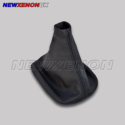 Peugeot 107 (2005->)  -  Gear Gaiter Cover Black Leather