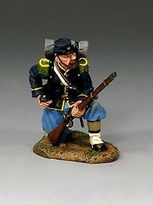 King And Country-Civil War Union Kneeling Loading Cw32  (Reduced To Clear )