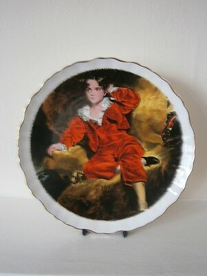 James Kent Old Foley Plate - 'The Red Boy' by Sir Thomas Lawrence