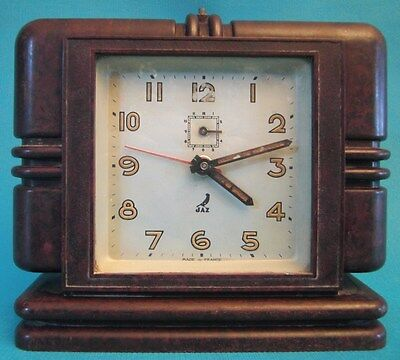 Alarm Clock Art Deco In Bakelite
