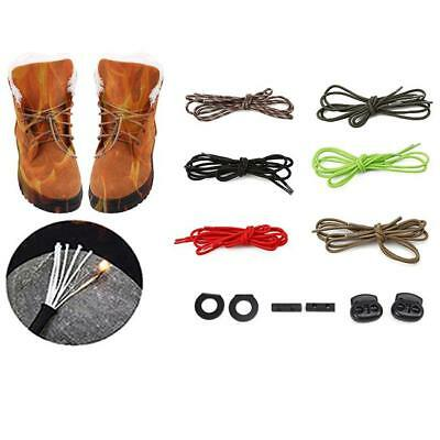 Hiking Walking Flint Fire Flame Boot Shoelaces Survival Lighter Lifesaving Stick