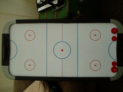 Air Hockey Table  120CM X60CM APPROX, PUCKS AND 2x PUSHERS