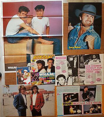 magazine clippings - WHAM #01 - GEORGE MICHAEL - ANDREW RIDGELEY - european