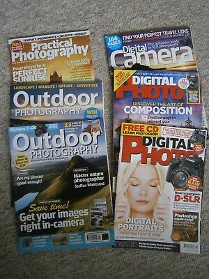 Photography Magazines Outdoor, Digital Camera & Practical
