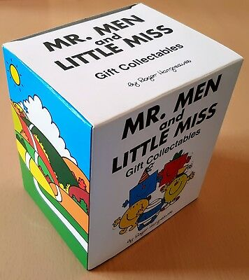 Pacemaker Mr Men Mr Strong Gift Collectable Figure Mint In Mint Box 2005