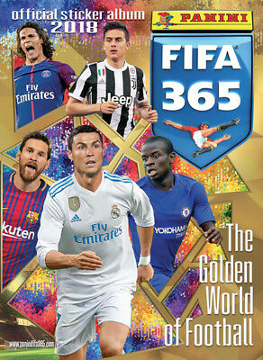 Panini 2018 FIFA 365 Official Sticker Collection - Blank New Album