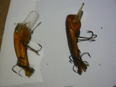 2 very old murray cod lures