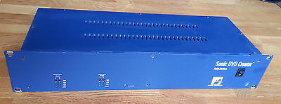 Sonic Solutions DVD Creator Audio Interface I/O Bay AES Analog