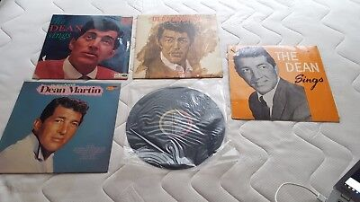 5x Dean Martin Vinyl, The very best of, The Dean sings, When you're smiling