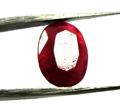 6.30Ct. Natural Oval Cut  Red Color Ruby Loose  Gemstone for Ring ks 6326