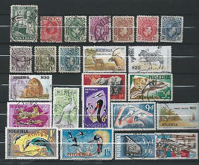 Nigeria: FU selection of nice stamps