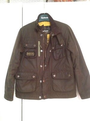 boys barbour wax jacket