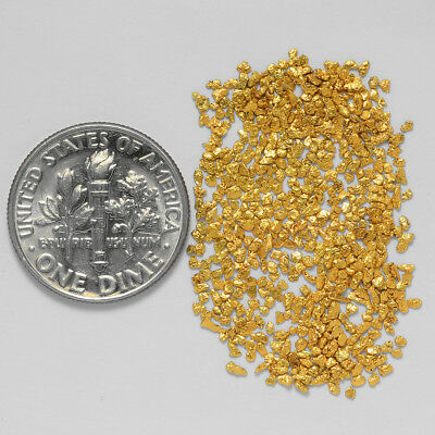 0.6343 Gram Alaskan Natural Gold Nuggets - (#21070) - Hand-Picked Quality