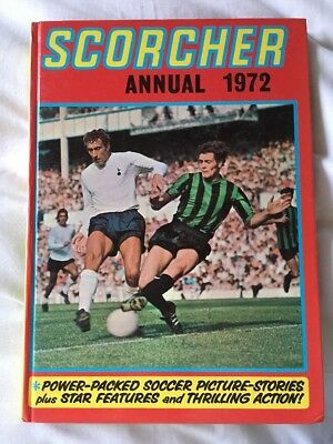 Scorcher Annual 1972 ***Unclipped***
