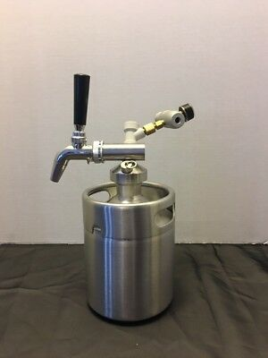 Mini Keg Growler With Perlick Style Tap