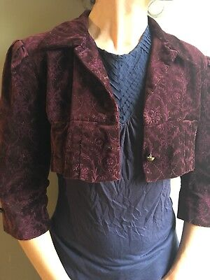 Austen Georgian Bolero Jacket Theatre Size 10
