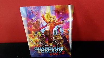 GUARDIANS OF THE GALAXY 2 - 3D Lenticular Magnet Cover for Bluray Steelbook