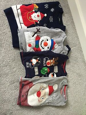 Boys Christmas Jumpers 18-24 Months