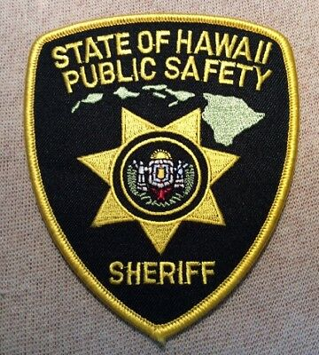 HI State of Hawaii Public Safety Sheriff Patch