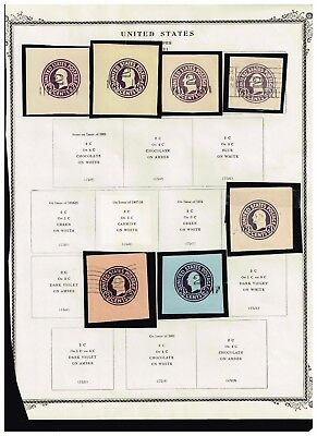 USA STAMP REVENUE-BOB  CUT SQ  Stamps Collection Lot - 4