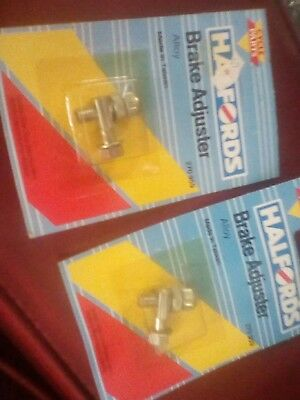 raleigh chopper mk1 or mk2 brake adjusters and pinch bolts nos set of 4