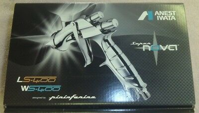 Anest Iwata LS-400 Super Nova Pininfarina Air Paint Spray Gun no Hopper