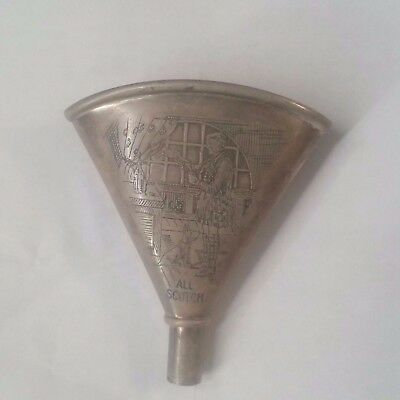 R. Blackinghton & Co. Sterling Silver Liquor Flask Funnel, c1900