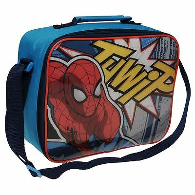 MARVEL Sac à gouter bleu & rouge lunch bag SPIDERMAN Neuf