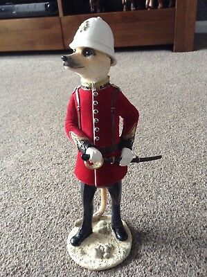 Country Artists Magnificent Meerkats CA02910 Granville. Discontinued. Rare.