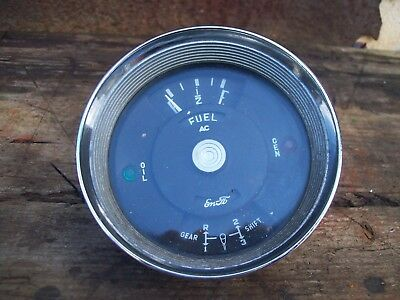 Vintage Fuel Gauge, Ford 100E, Popular, Prefect, Anglia, Hot Rat Rod, Special