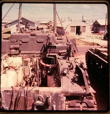Vietnam Slide- 2 Tour Army GI with 18TH ENGINEER BRIGADE collection 1966-70 #73