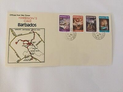 Barbados First Day Cover Harrison's Cave 1981