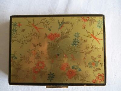 Vintage make up case, ?1950s, French, made by Tany of Paris