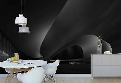 Hall Walls Ceiling Curve Round Shapes Photo Wallpaper Wall Mural (1X-1212111)