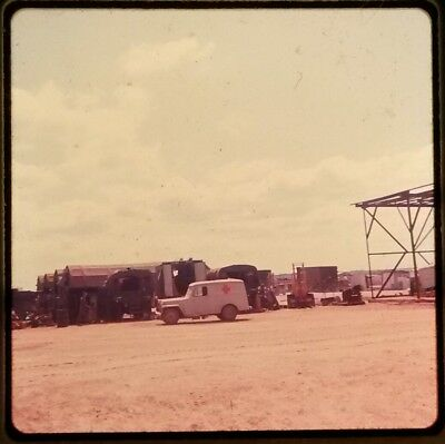 Vietnam Slide- 2 Tour Army GI with 18TH ENGINEER BRIGADE collection 1966-70 #81