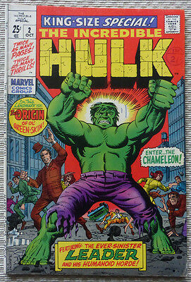 THE INCREDIBLE HULK, KING-SIZE SPECIAL No 2, ORIGINAL MARVEL
