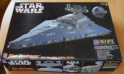 Bausatz STAR WARS Star Destroyer Fiber Optic AMT/ERTL