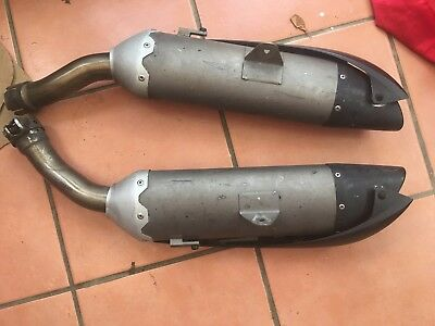 Yamaha R1 5VY Exhaust Can - Genuine Exhaust with the Baffles removed