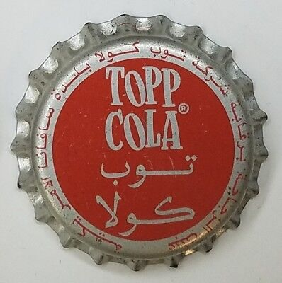 TOPP COLA Soda Bottle Cap Crown UNUSED CORK Caps