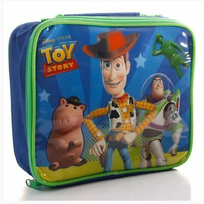 DISNEY Sac à gouter rouge lunch bag TOY STORY Woody Buzz l éclair Neuf