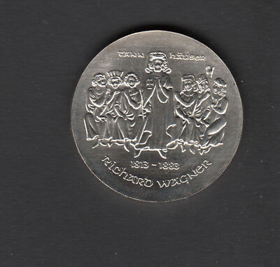 DDR Gedenkmünze 1983  Richard Wagner    10,- DM