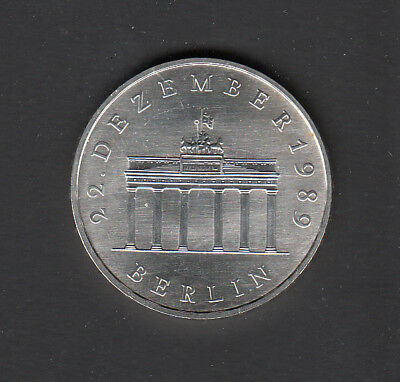 DDR Gedenkmünze 1990 Brandenburger Tor    20,- DM