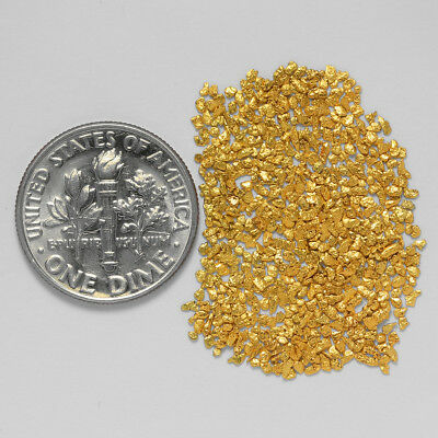0.5958 Gram Alaskan Natural Gold Nuggets - (#21057) - Hand-Picked Quality