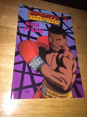 Mike Tyson Sport Superstars Comic
