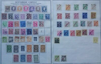 Lot of Mozambique Company Old Stamps MH/Used