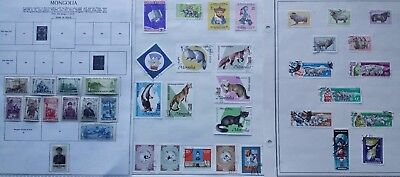 Lot of Mongolia Old Stamps MH/Used