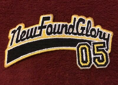 Vintage New Found Glory 05 Band Patch