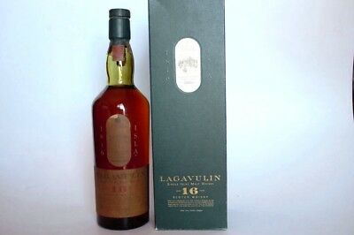 Whisky Lagavulin 16 Years Old ( White Horse ) 75cl Old Version 43º