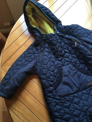 Baby Ted Baker Navy Snowsuit 18-24 Months
